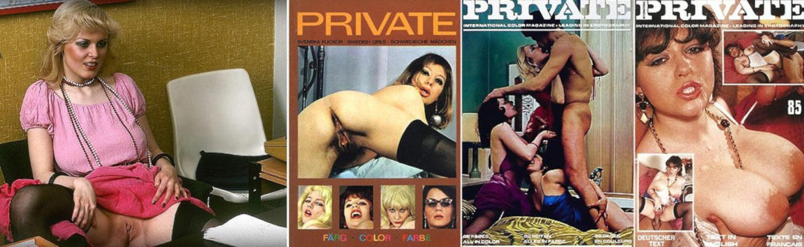 Classic Retro Porn from PRIVATE